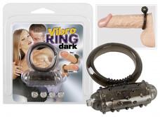 Tiszta szilikon péniszgyűrű - fekete