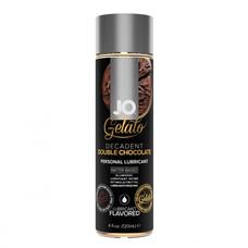 Jo Gelato dupla csoki - ehető, vízbázisú síkosító (120ml)