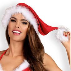 Obsessive Santastic - mikulás sapka (piros-fehér)