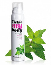 Tickle my body - masszázs hab - menta (150ml)