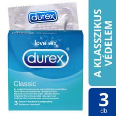 Durex Classic - óvszer (3db)