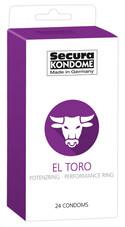Secura El Toro - potenciagyűrűs óvszerek (24db)