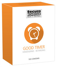 Secura Good Timer - ejakuláció késleltető óvszerek (100db)