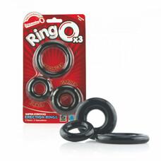 Screaming O - szilikon péniszgyűrű szett (3db)