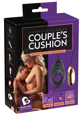 Couples Cushion 3 in1 - akkus párvibrátor (fekete)