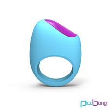 Picobong Remoji Lifeguard - akkus péniszgyűrű (türkiz)
