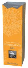 HOT Shiatsu - klitorisz stimuláló krém - gyömbér-fahéj (30ml)