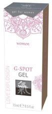 HOT Shiatsu G-Spot - G-pont stimuláló intim gél (15ml)