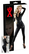LATEX - hosszúujjú női overall (fekete) [M]