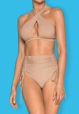 Obsessive Hamptonella - nyakpántos bikini (nude)