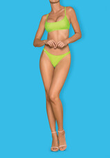 Obsessive Mexico Beach - sportos bikini (neonzöld) [L]