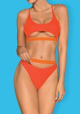 Obsessive Miamelle - pántos sportos bikini (narancs) [M]