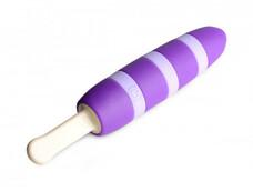 Cocksicle Pleasin - jégkrém nyalóka, akkus vibrátor (lila)