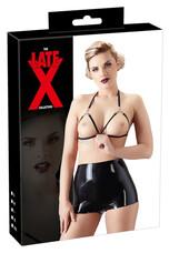 LATEX - rövid női short nadrág (fekete) [M]