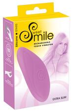 SMILE Touch - akkus hajlékony csiklóvibrátor (lila)