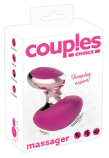 Couples Choice - akkus, mini masszírozó vibrátor (pink)