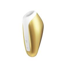 Satisfyer Love Breeze - akkus, vízálló csiklóizgató vibrátor (arany sárga)