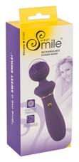 Smile Power Wand - akkus, extra erős masszírozó vibrátor (lila)