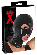 LATEX - fejmaszk (fekete)