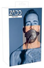 ZADO - pumpás péniszes szájpecek (fekete)