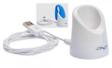 We-Vibe Match - USB-töltőkábel és tok (fehér)