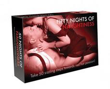 FIFTY NIGHTS OF NAUGHTINESS - erotikus társas (angol nyelven)