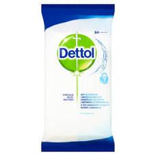 Dettol - antibakteriális felülettisztító kendő (84db)