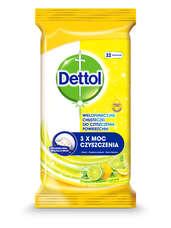 Dettol Power&Fresh - univerzális felülettisztító kendő - citrom-lime (32db)