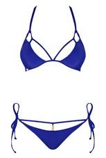 Obsessive Costarica - nyakpántos bikini (kék) [L]
