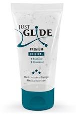 Just Glide Premium Original - vegán, vízbázisú síkosító (50ml)
