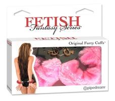 Fetish - plüss bilincs (pink)