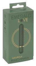 Emerald Love - akkus, vízálló rúdvibrátor (zöld)