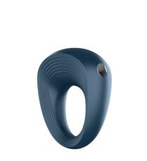 Satisfyer Ring 2 - vízálló, akkus péniszgyűrű (szürke)