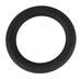 Black Velvet - szilikon péniszgyűrű (fekete) - 5cm
